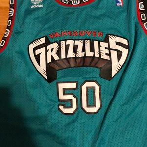 adidas Shirts - Vintage Bryant Reeves Vancouver Grizzlies Jersey! 49415d48f